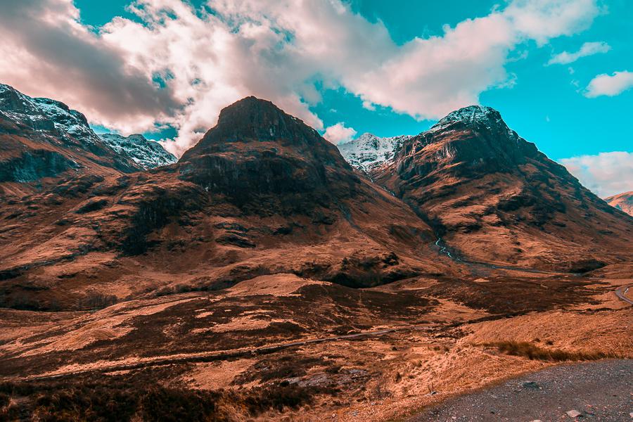 Valle di Glencloe - Highlands partendo da Edimburgo