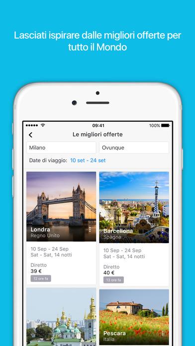 Skyscanner - Le migliori app per viaggiare