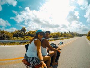 Noleggiare scooter a Cozumel - Messico