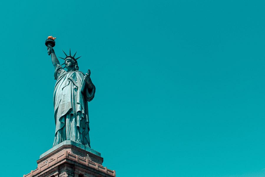 New York e la statua della libertà