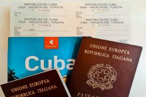 Viaggio a Cuba - Tarjeta turistica