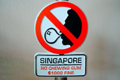 Singapore - Diviteto Chewing gum