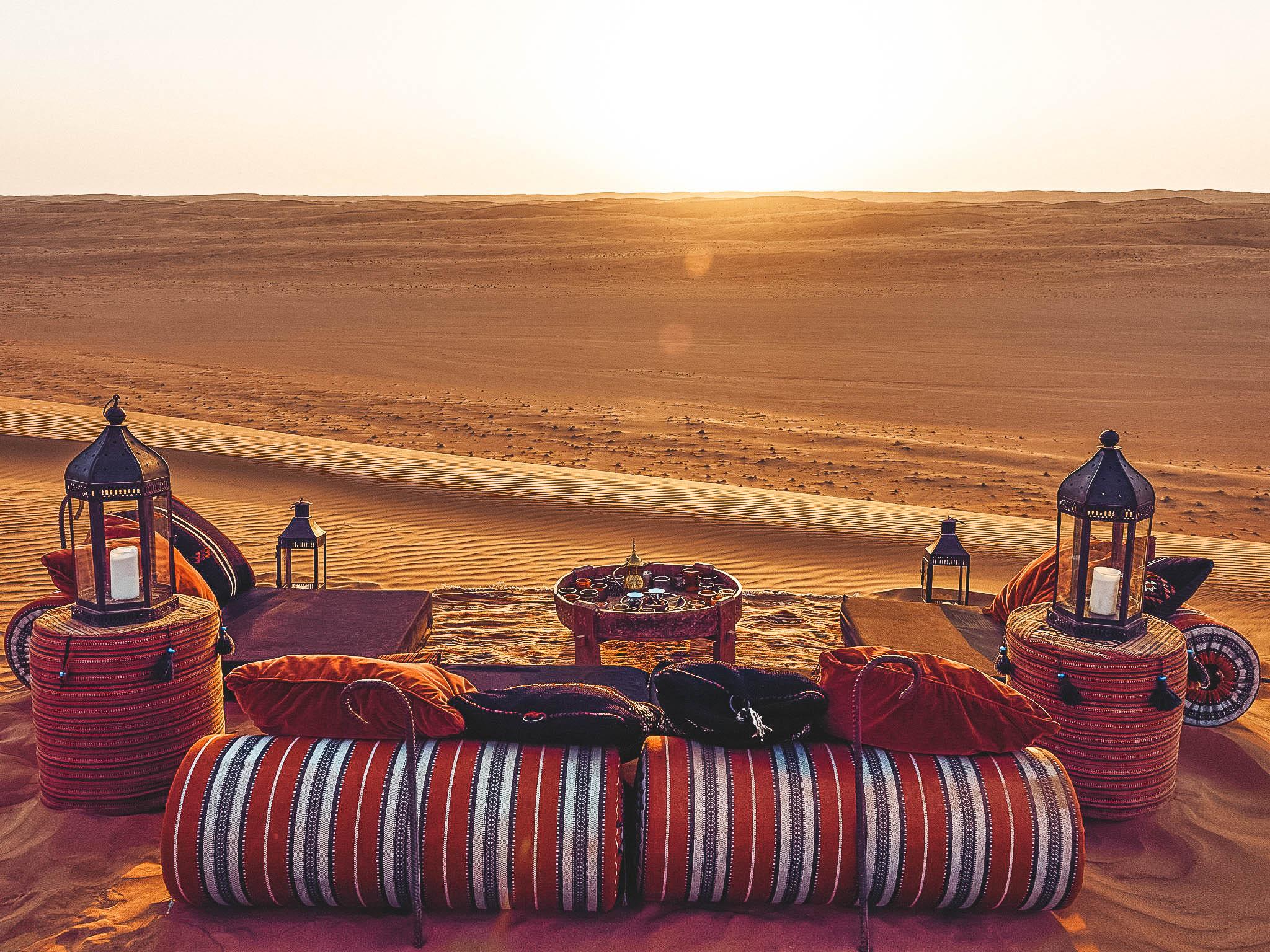visitare l'Oman