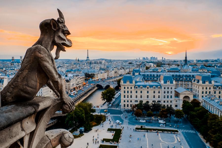 dove vedere Parigi dall'alto